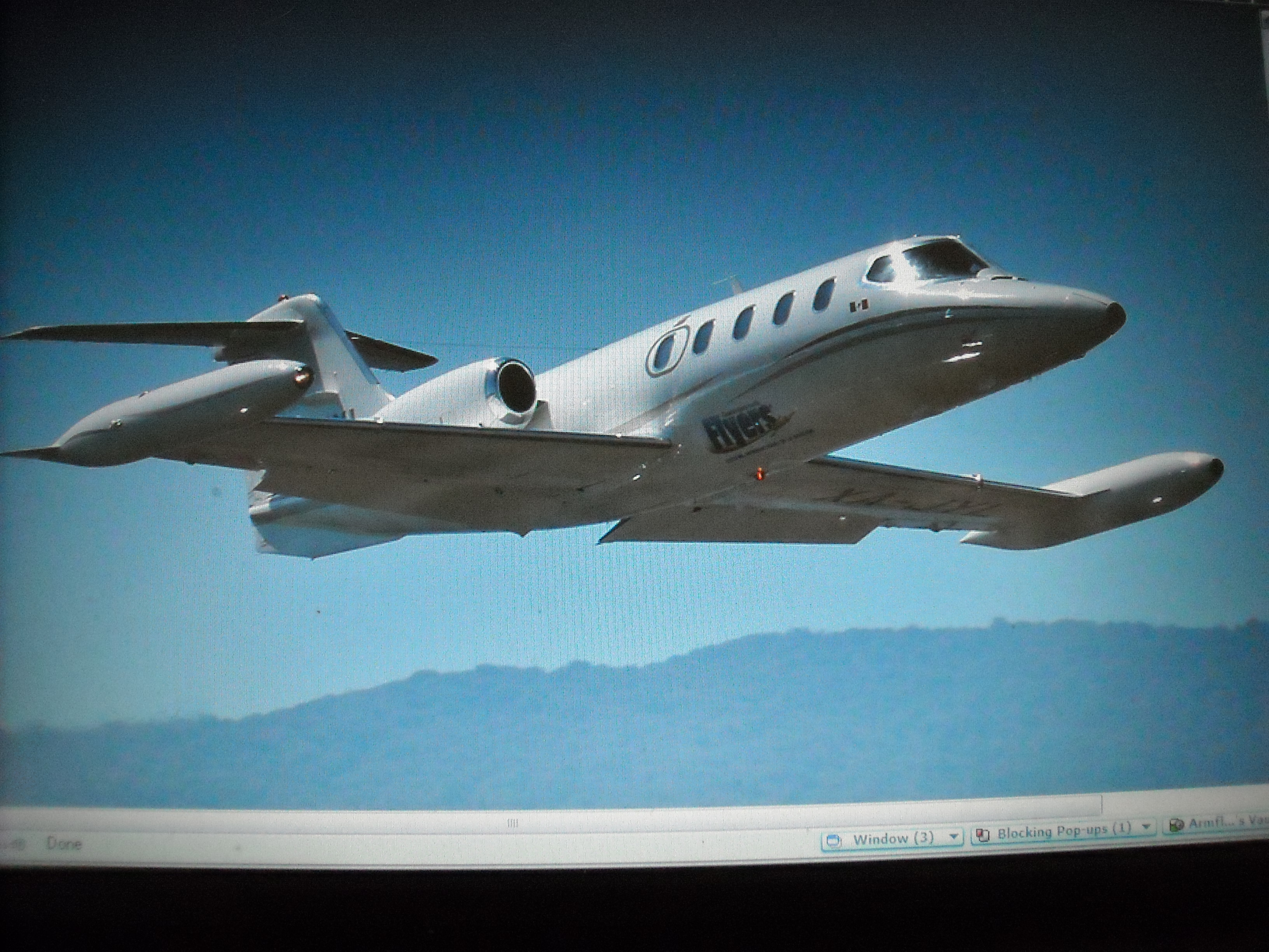 12 million dollar Learjet